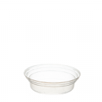 65DLID 97mm Clear Domed Lids (LC97/90)